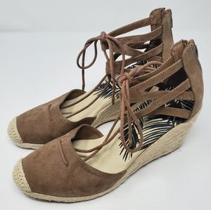 DV by Dolce Vita Manica Ghille Wedge Espadrilles